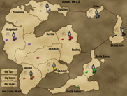 Campaign Map (early game)