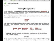 Tutorial page 3 on Mac OS X
