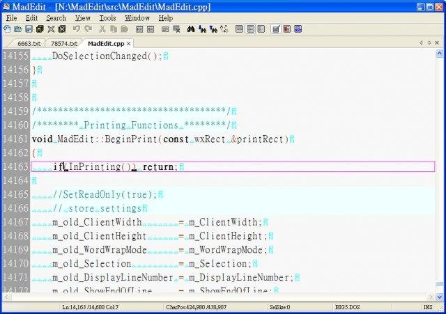 MadEdit download | SourceForge net