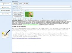 Mail-it: HTML news editor