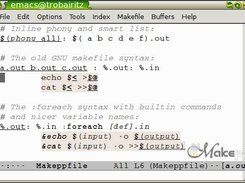 A trivial example Makeppfile, with old and new syntax