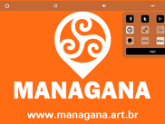 some of the Managana player interface