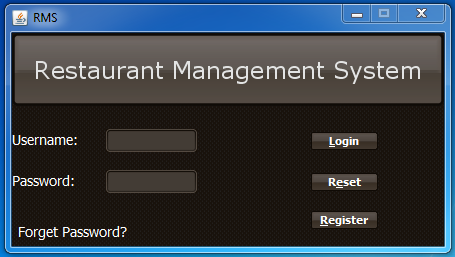 Restaurant Management System ( RMS ) download | SourceForge net