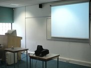 System components: PC, projector, webcam and projection area