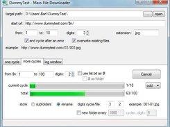 Mass File Downloader download | SourceForge net