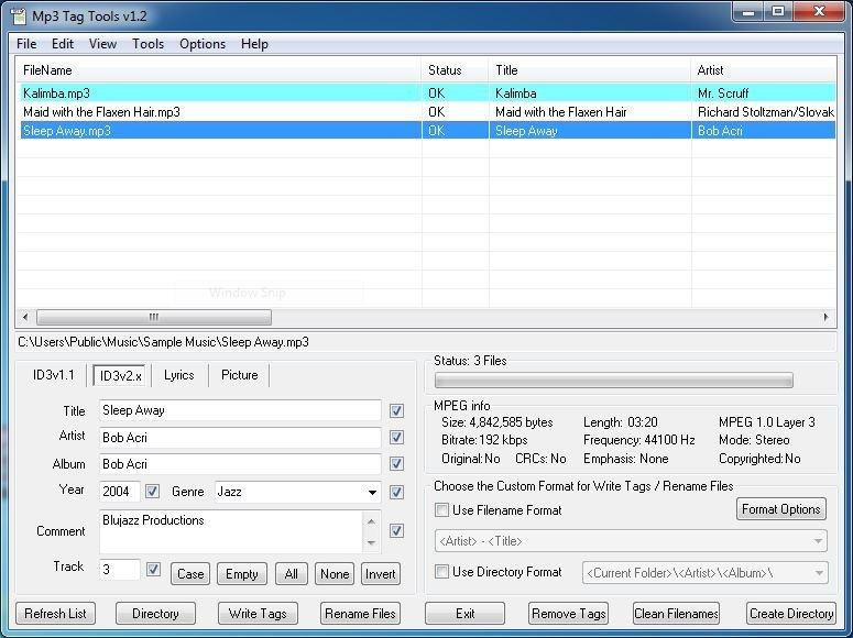 The 5 Best Free MP3 Tag Editors