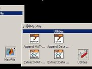 The MAT-File Palette in LabVIEW.