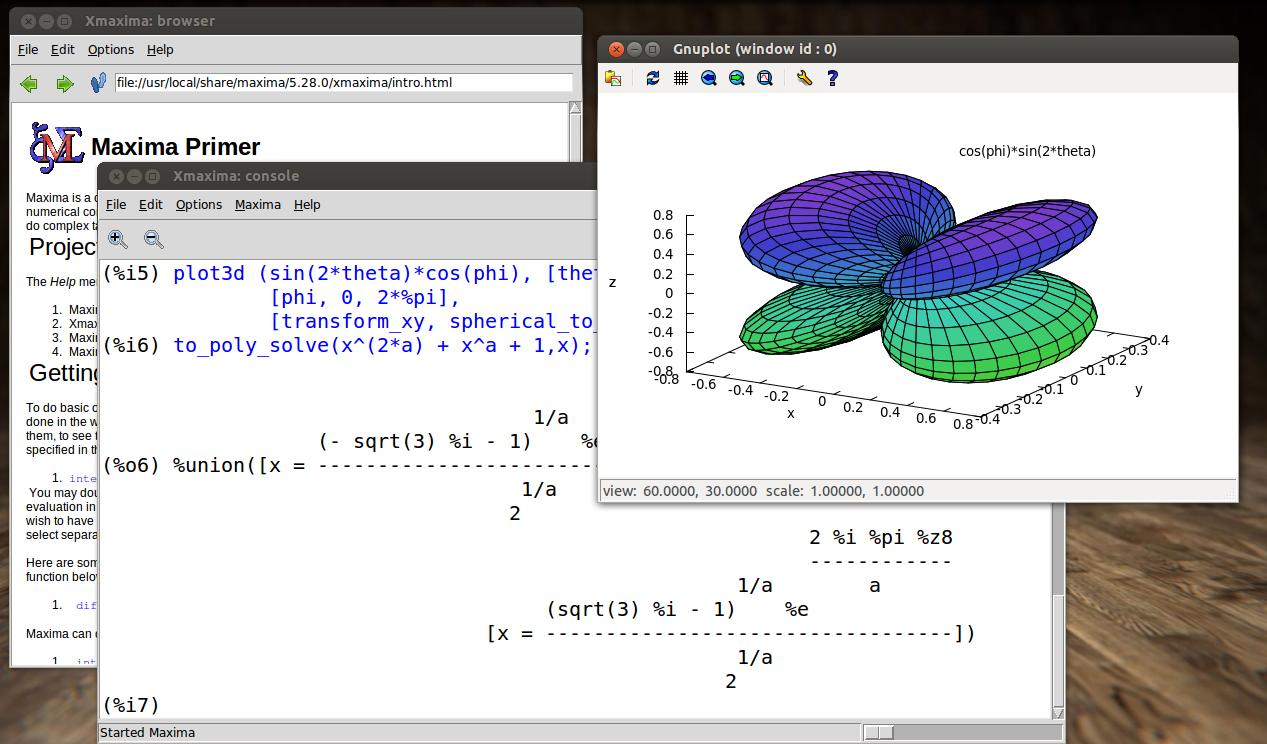 Maxima -- GPL CAS based on DOE-MACSYMA download | SourceForge net