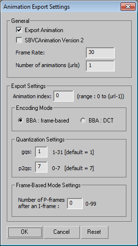 3ds Max MPEG-4 Exporter Plugin download | SourceForge net
