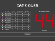 "4. The ""Game Over"" screen, with countdown to next round."