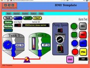 HMI - Example of an HMI web page.
