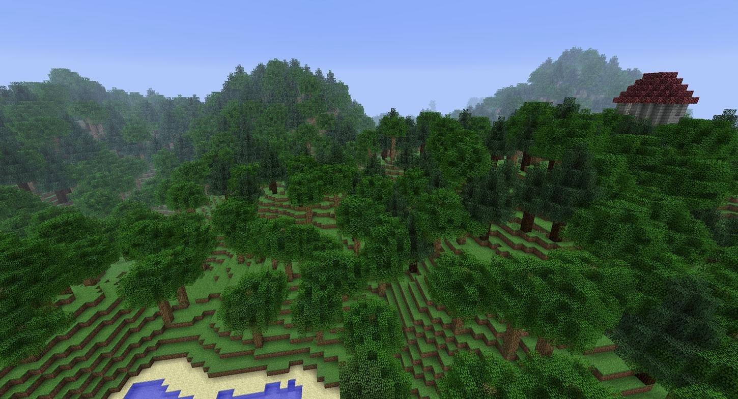 Minecraft Hunger Games Map Generator Download Clock Project Example World 2