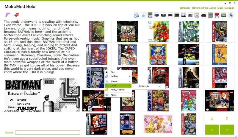 MedGui Reborn & MetroMed download | SourceForge net