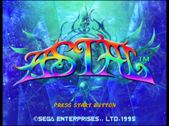 Astal, for the Sega Saturn