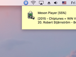 Meson Player on OSX 10.12 Sierra