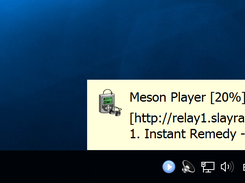 Meson Player on Windows 10