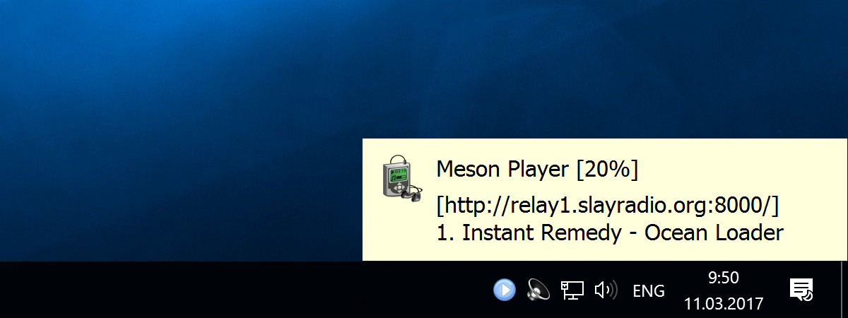 Meson Player download | SourceForge net