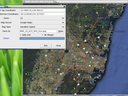 The GUI version of mkmap