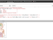 Results of executing code in Query Console: Displays two images retrieved from S3.