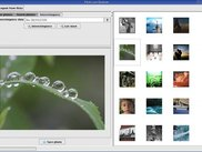 MMBox Image Panel showing interesting photos from flickr