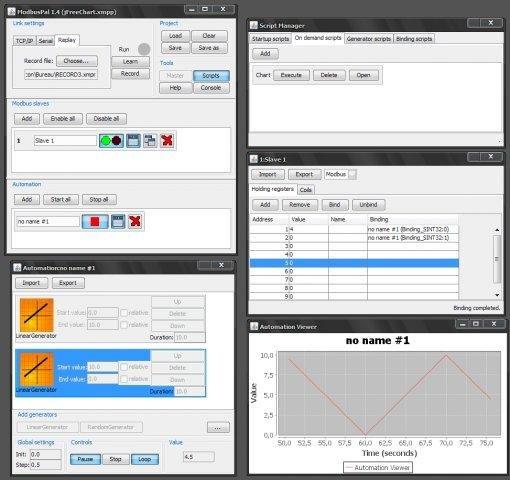 Julie: ModbusPal - a Java MODBUS simulator download