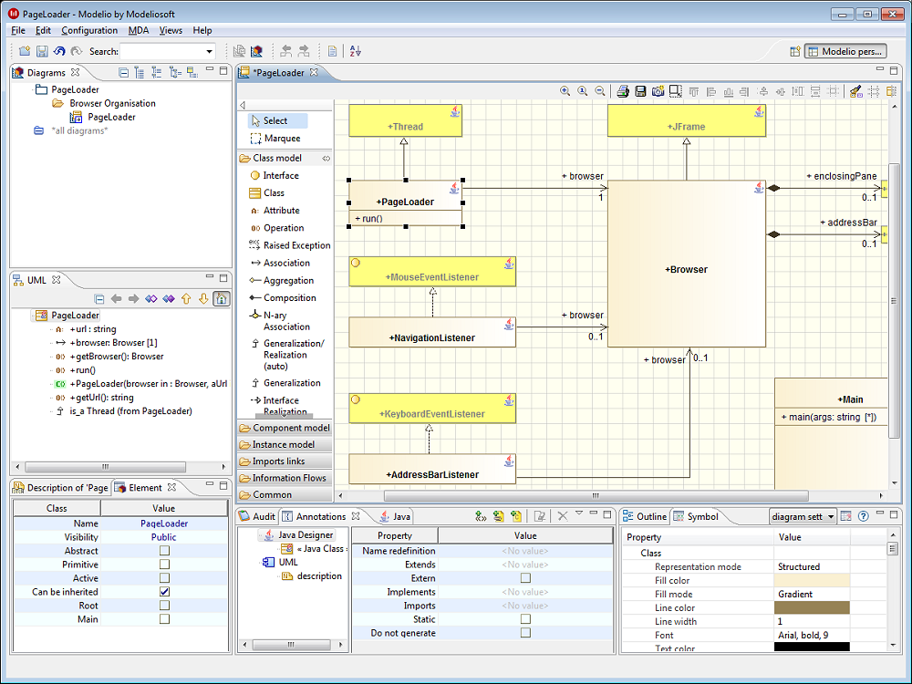 modelio   modeling environment  uml  download   sourceforge net
