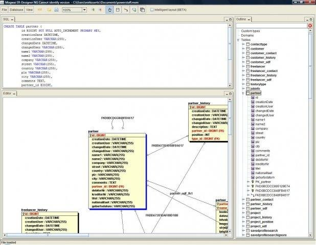 Mogwai java tools download sourceforge erdesigner main screen ccuart Images