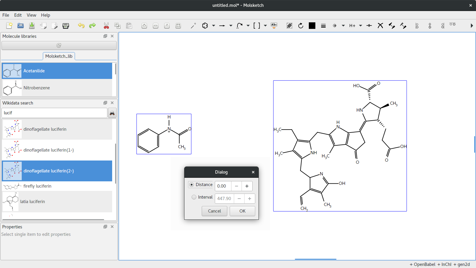 Molsketch download | SourceForge net