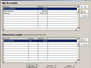 View of Accounts