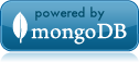 Powered by MongoDB
