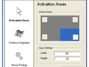 Activation Areas Settings