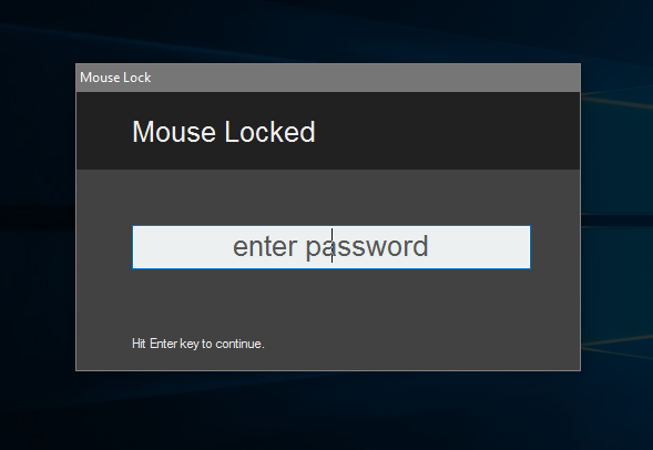 Mouse Lock download   SourceForge net