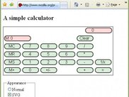 IE7 with MozzIE 2.0 rendering Mozilla Sample Calculator SVG