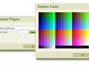 color window for mp3player