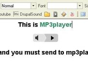 mp3player logo image in FCKeditor