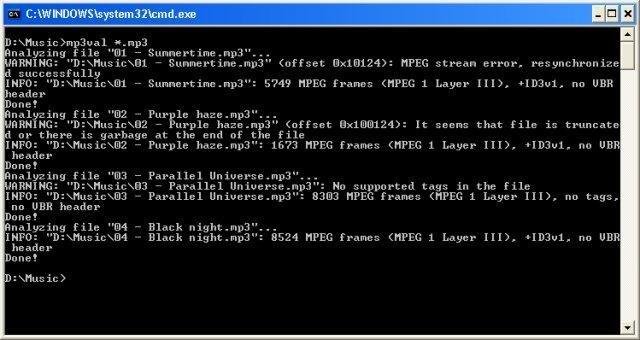 MP3val download | SourceForge net