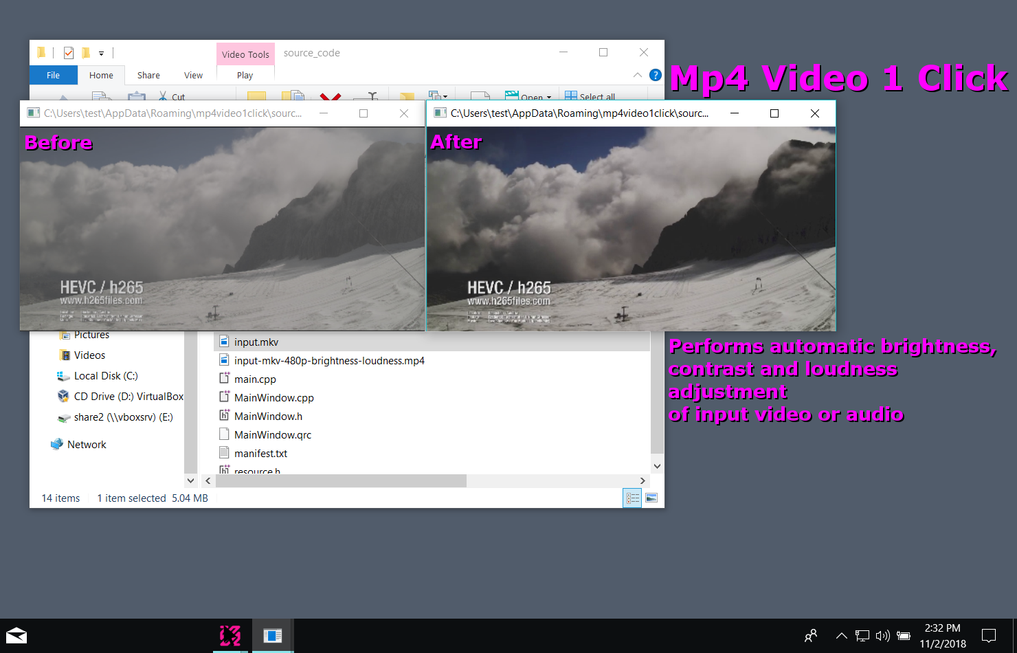 Mp4 Video 1 Click for Windows (+FFMPEG) download | SourceForge net