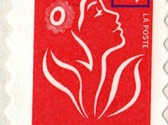 "Sample ""French Marianne"" Stamp scan at 600 dpi"