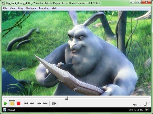 Media player classic home cinema project