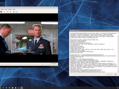Stargate played from an encrypted blu-ray disc