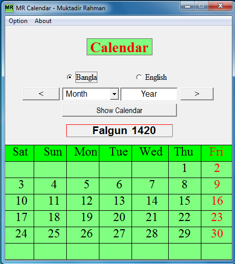BENGALI CALENDAR 1420 BANGLADESH PDF DOWNLOAD
