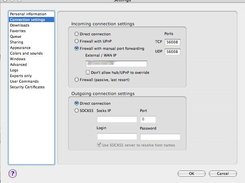 This screenshot shows a part of the settings dialog