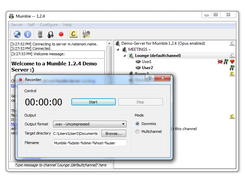 Mumble 1.2.4 on Windows 7