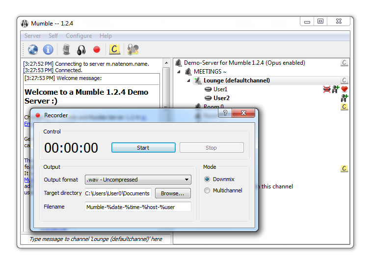 mumble 1.2.4 mac