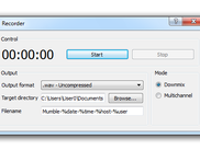 Mumble 1.2.4 recorder on Windows 7
