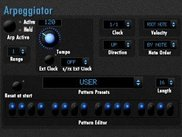 monstrumWaveXL Rev 2.497 Detail: Arpeggiator