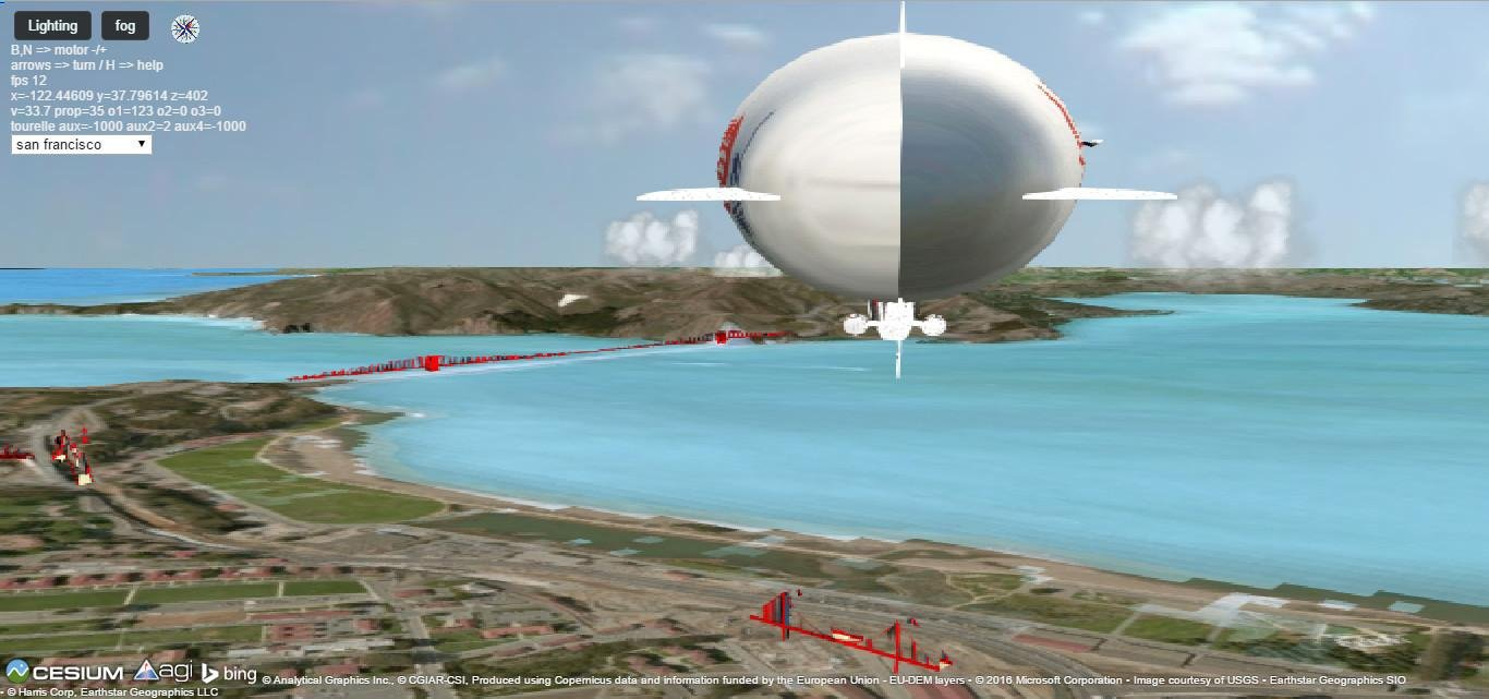 myCesiumflight html5 webgl Cesium flight simulator - Game Showcase