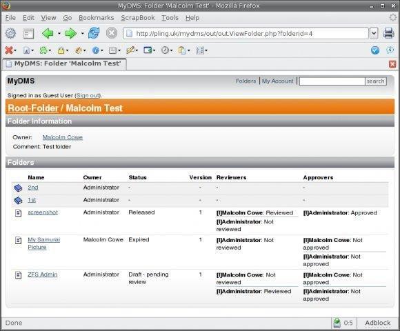 pdf document management open source