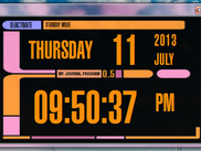 Standby Screen / Clock