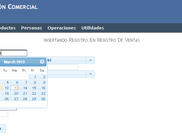 With jquery UI: Editing - Calendar